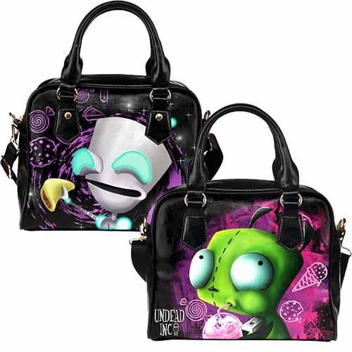 Undead Inc Invader Zim Gir Shoulder / Hand Bag