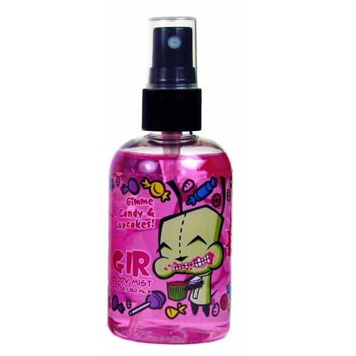 Invader Zim GIR Candy Cupcakes Body Spray Mist Perfume - Undead Inc Fragrance,