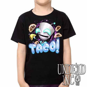 Invader Zim Robot Gir Tacos - Kids Unisex Girls and Boys T shirt Clothing - Undead Inc ,