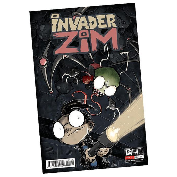Invader Zim Comic Book #1
