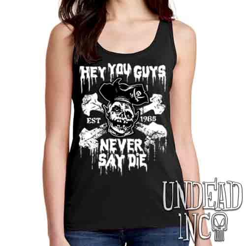 Goonies Never Say Die - Ladies Singlet Tank