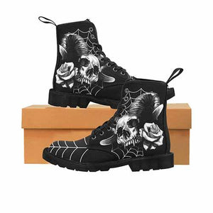 Gothic Rose MENS Martin Boots