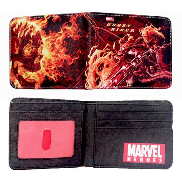 Marvel Ghost Rider PU Leather Bifold Wallet