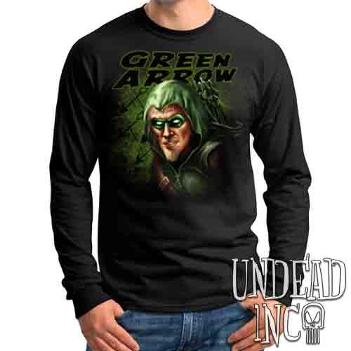 Green Arrow - Mens Long Sleeve Tee