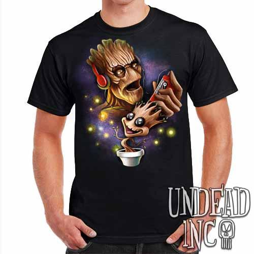 Groot Awesome Mix Tape - Mens T Shirt - Undead Inc Mens T-shirts,