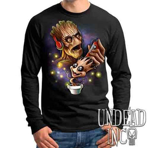 Groot Awesome Mix Tape - Mens Long Sleeve Tee