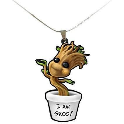 Guardians of the Galaxy Baby Groot Necklace - Undead Inc ,