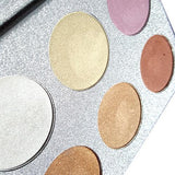 Sparkle & Shine Undead Inc Unicorn Highlighter Palette