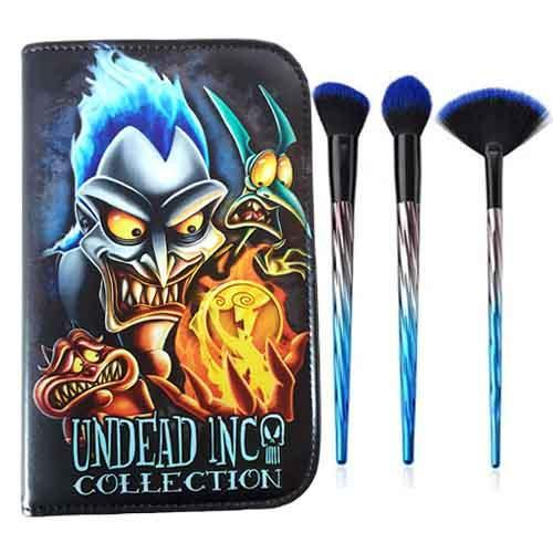 Undead Inc Collection Villains Hades Makeup Brush & Case Set