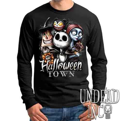 Halloween Town - Mens Long Sleeve Tee
