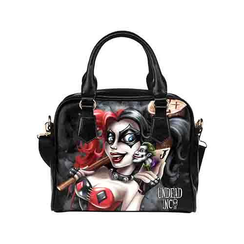 Harley Quinn Lil Monster Undead Inc Shoulder / Hand Bag