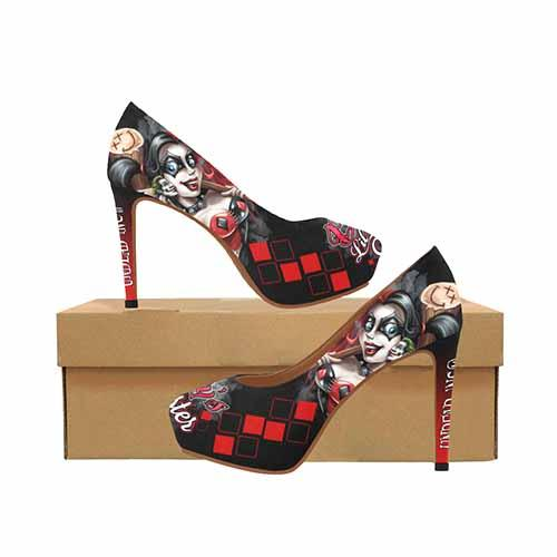 Harley Quinn Daddy's Lil Monster Platform High Heels