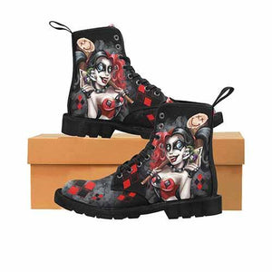 Harley Quinn Lil Monster LADIES Martin Boots