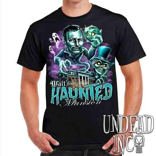 Walt's Haunted Mansion - Mens T Shirt