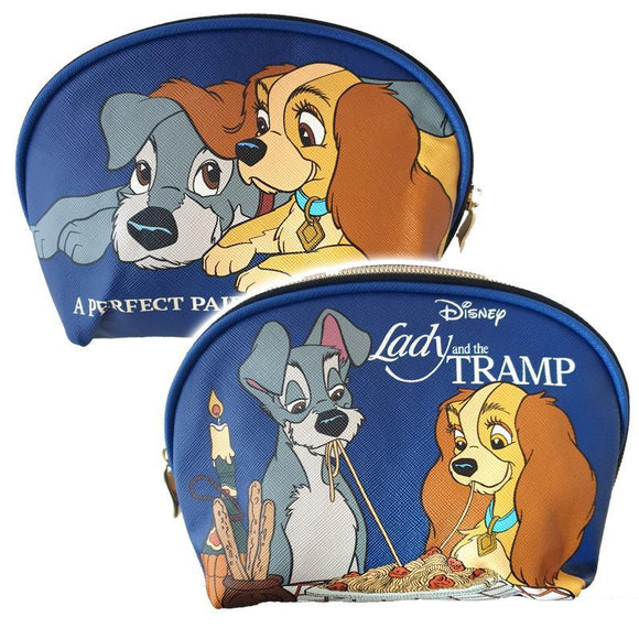 Lady & The Tramp Perfect Pair Pu Leather Makeup Cosmetics Bag