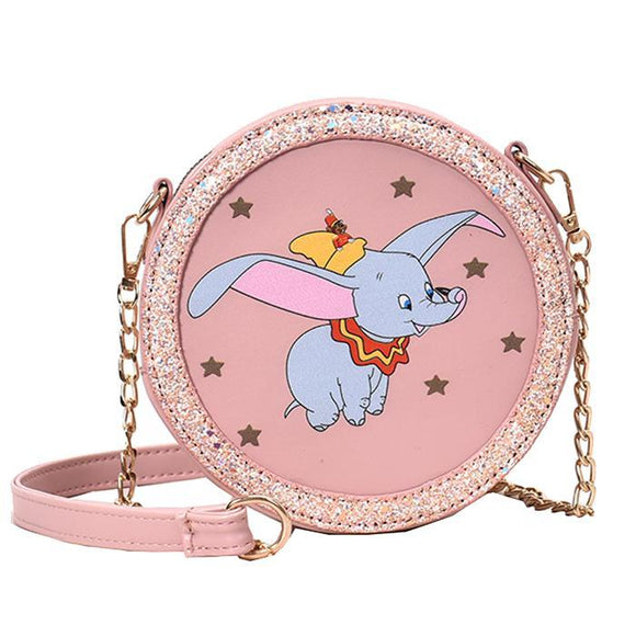 Dumbo Pink Shoulder Bag Purse