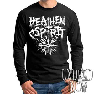 Viking Heathen Spirit - Mens Long Sleeve Tee