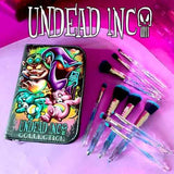 Undead Inc Collection Care Bears Crystal - Makeup Brush & Case Set
