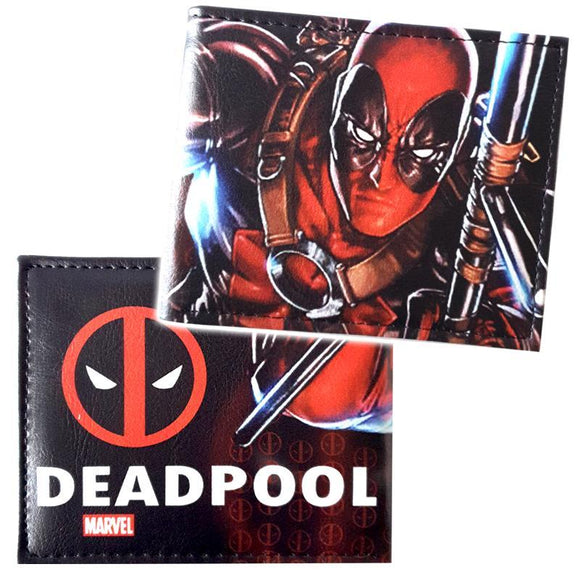 Deadpool Comic Pu Leather Wallet