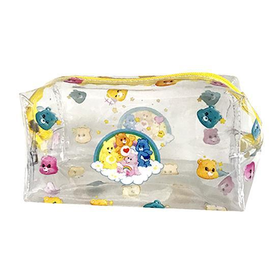 Retro Care Bears Clear Waterproof Toiletries Makeup Cosmetics Bag