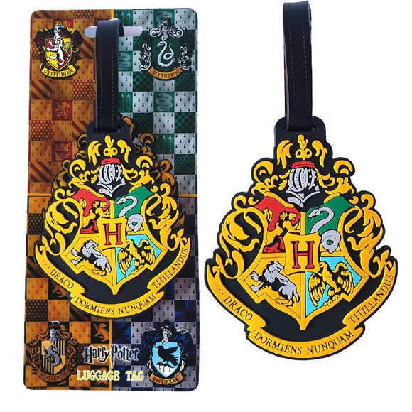 Harry Potter Hogwarts Crest Bag Tag