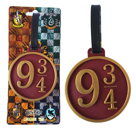 Harry Potter Platform 3/4 Hogwarts Express Bag Tag