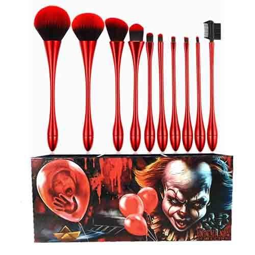 Pennywise Undead Inc Collection - Makeup Brush & Holder Set