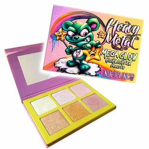 Scare Bear Heavy Metal Mega Glow Undead Inc Highlighter Palette