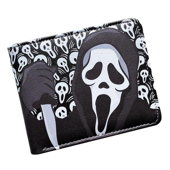 Scream Ghostface PU Leather Bifold Wallet