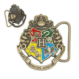 Harry Potter Hogwarts Crest Belt Buckle