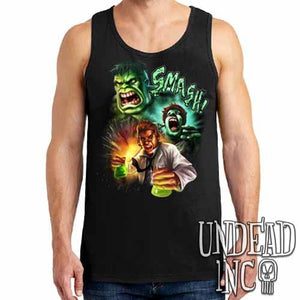 Incredible Hulk Transformation - Mens Tank Singlet
