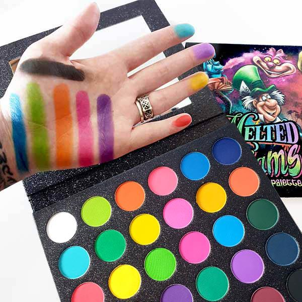 Melted Dreams Undead Inc Matte Rainbow Eyeshadow Palette Eye Shadow Undead Inc