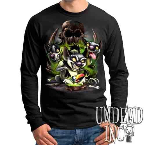 Lion King The Hyena's Birdie Boiler - Mens Long Sleeve Tee