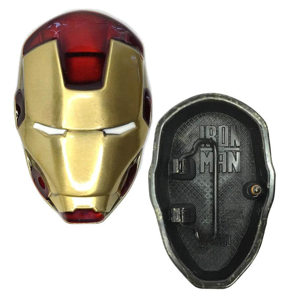 Iron Man Head Belt Buckle