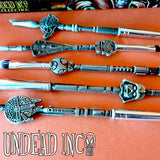The Child - Star Wars Undead Inc Collection - Metal Makeup Brush & Holder Set