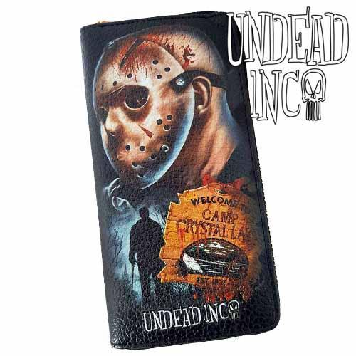 Friday 13 Jason Voorhees Undead Inc Premium Pu Leather Long Line Wallet