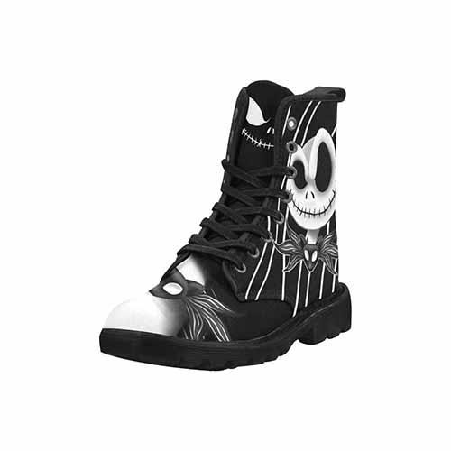 Jack Skellington Nightmare Before Christmas LADIES Martin Boots - Undead Inc Womens Boots,