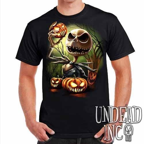 Nightmare Before Christmas Pumpkin King Jack - Mens T Shirt