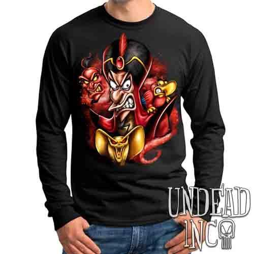 Aladdin Jafar Sorcerer Of Evil - Mens Long Sleeve Tee