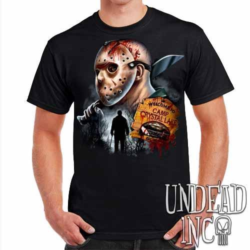 Jason Voorhees Camp Crystal Lake - Mens T Shirt