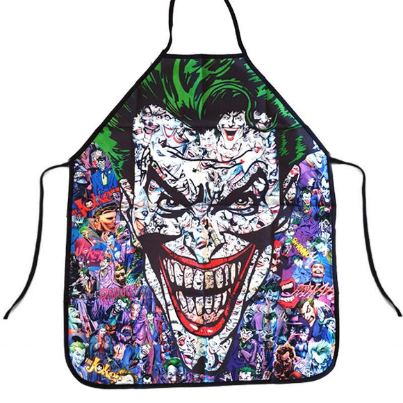 The Joker Comic Book Apron