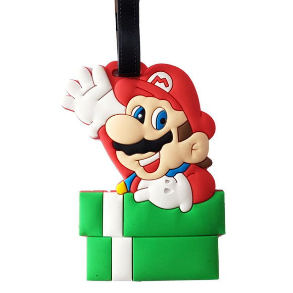 Super Mario Bag Tag