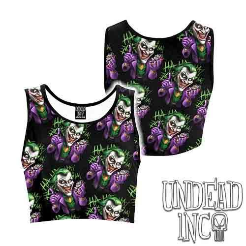 Joker Bat Bomb Women's Crop Top