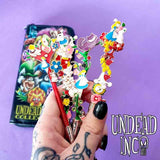 Undead Inc Collection Melted Dreams - Alice In Wonderland  Makeup Brush & Case Set