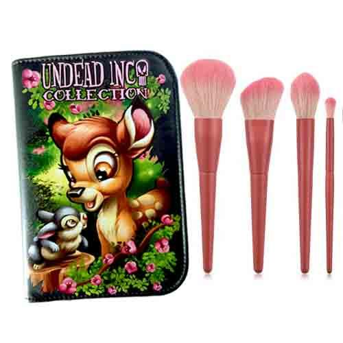Undead Inc Collection Bambi - Makeup Brush & Case Set