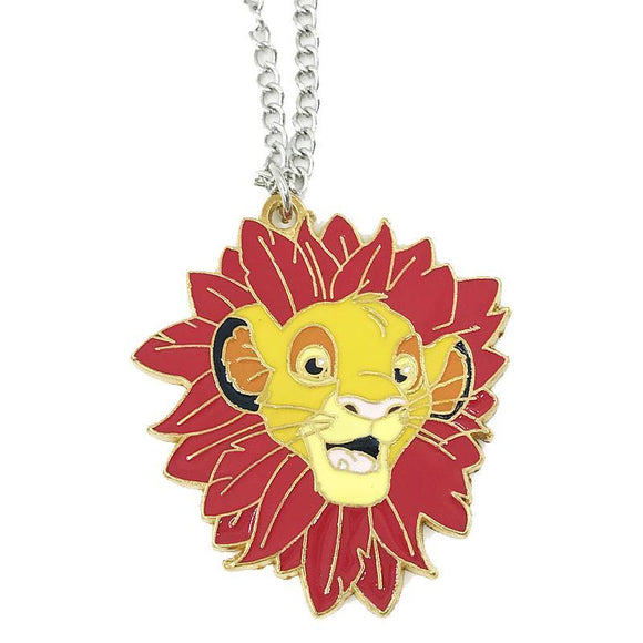 Lion King Simba Can't Wait To Be King Necklace