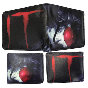 IT Pennywise Clown Wallet