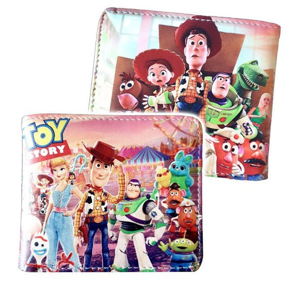 Toy Story Pu leather Bifold Wallet