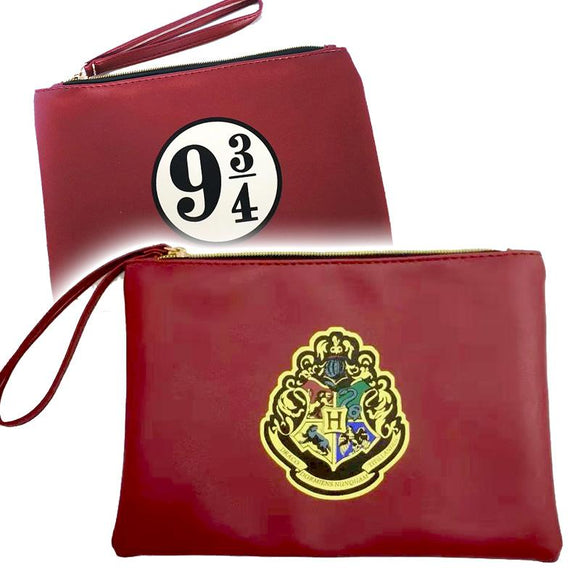 Harry Potter Gryffindor - Platform 9 3/4 PU Leather Makeup Cosmetics Bag