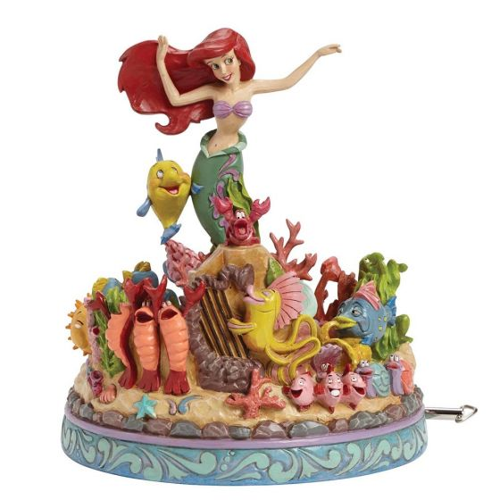 The Little Mermaid Ariel Under the Sea 25th Anniversary Musical Statue